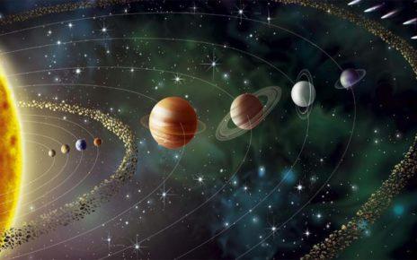 Jika Planet Tata Surya Gantikan Posisi Bulan