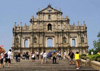 Bangunan Gereja St. Paul di Macau