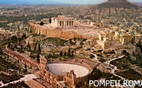 Pompei, Legenda Kota Romawi