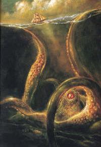 Kraken Legenda Raksasa