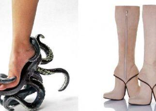 7 Sepatu dengan Desain Super Nyeleneh, Berani Pakai?